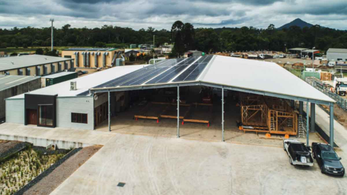 Eco Cottages Factory